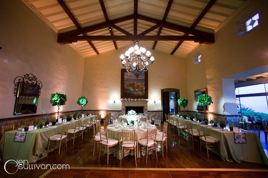 Real wedding inspiration from the Bel Air Bay Club in