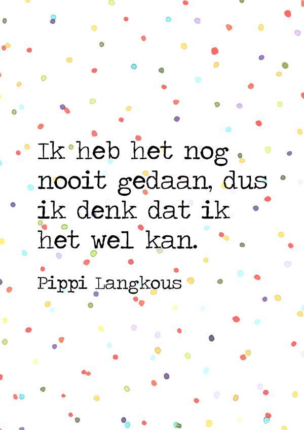 Citaten Pippi Langkous : Quote van pippi langkous verkrijgbaar als poster op mijn
