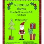 Christmas Santa I Can Draw Fun Pack