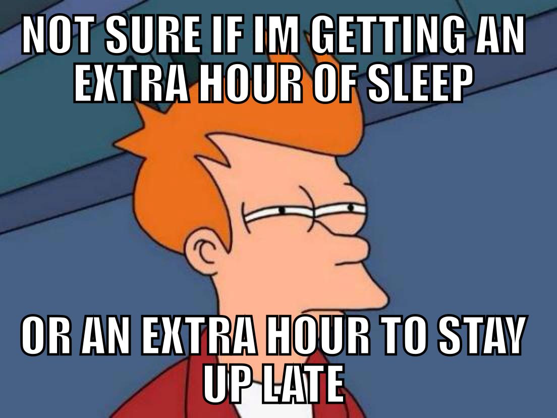 Funny Meme About Daylight Savings : Daylight savings time confusion top meme pinterest