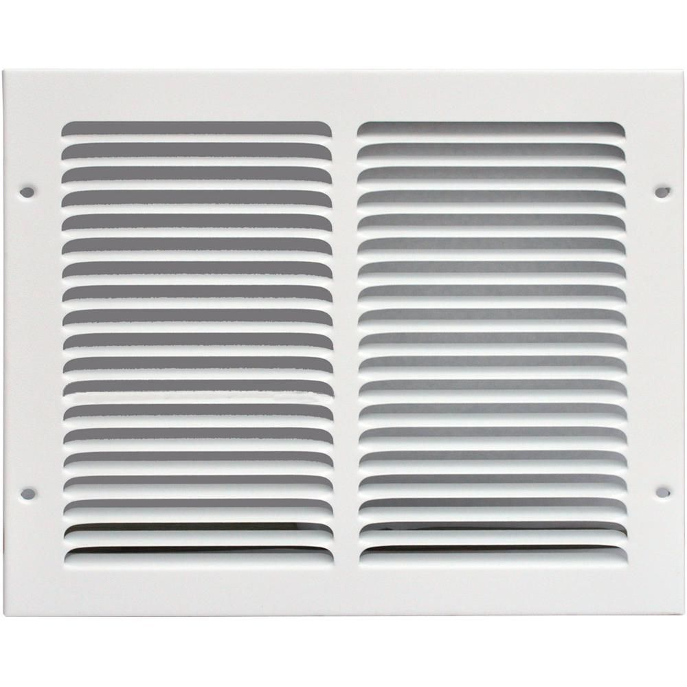 Speedi Grille 14 In X 10 In Return Air Vent Grille White With Fixed Blades Sg 1410 Rag Return Air Vent Air Vent Blade