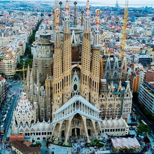 catedral sagrada familia barcelona espa a arquitectura