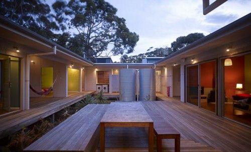 Courtyard home designs australia time