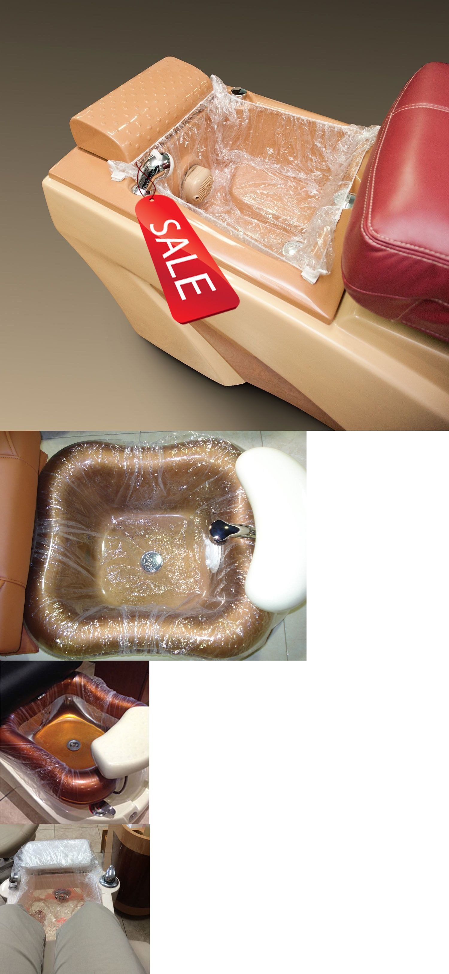 Spas Baths and Supplies: Disposable Liners For Spa Pedicure Chair ...