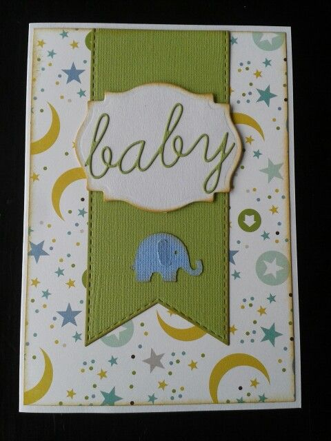 Baby kort / card