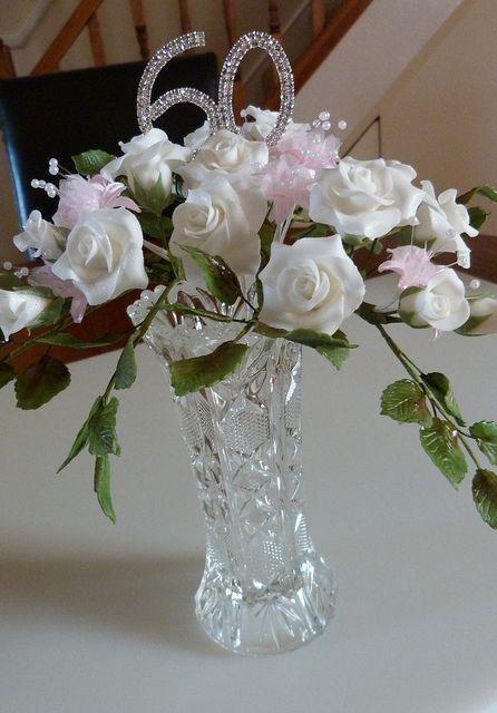 60th wedding anniversary centerpiece ideas - Wedding Decor Ideas