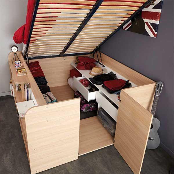 Charmant Kleine Wohnungen Platz Sparend Einrichten   Pharao24 Http://www.pharao24.de