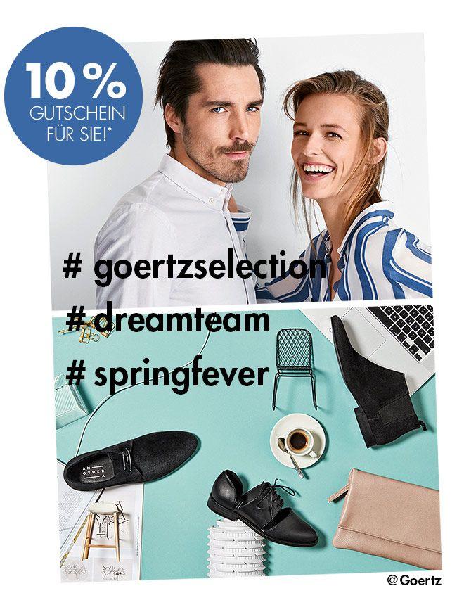 a9eb664464deba 10% Gutschein Görtz. Online Schuhe kaufen mit Rabatt durch Newsletter  Anmeldung.