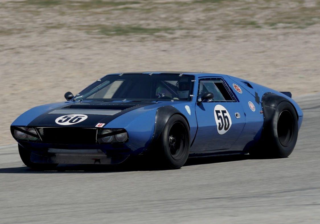 Beast Of A Mangusta Race Cars Racing Vintage Race Car