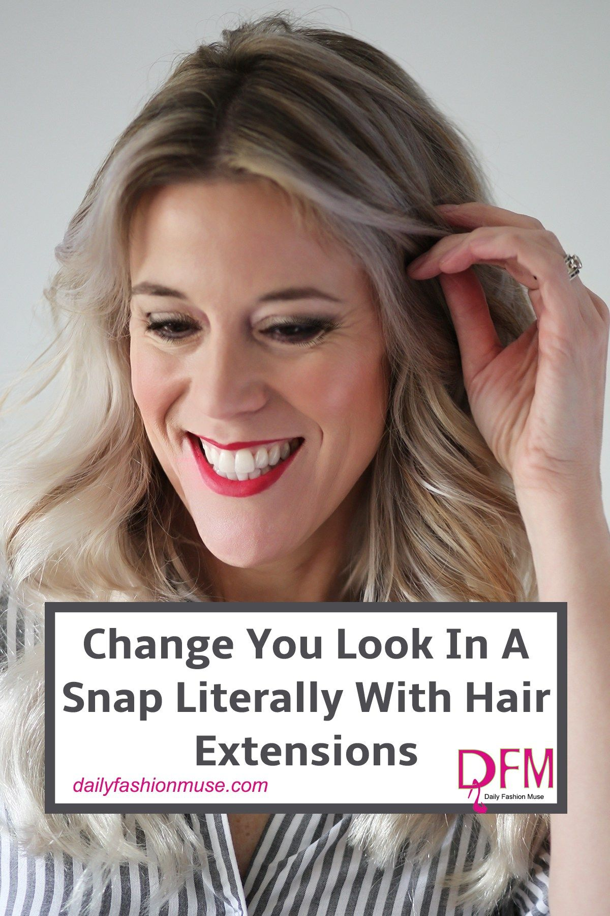 Clip In Hair Extensions Are A Fun And Easy Way To Change Up Your