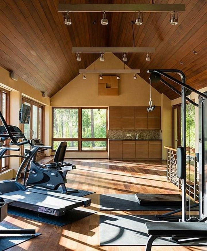 Home Gym Design Ideas Basement: 10 Extraordinary Basement Home Gym Design Ideas In 2020