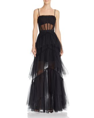 tulle corset essential gown  elegant dresses long gowns