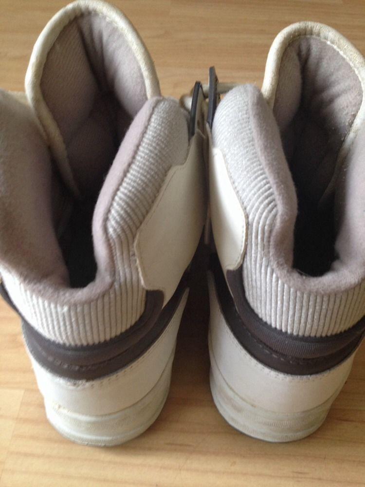 b71e554f14ba Vintage Converse Cons ERX 200 Leather Hi Tops Made in Korea Men s 8 1 2 US