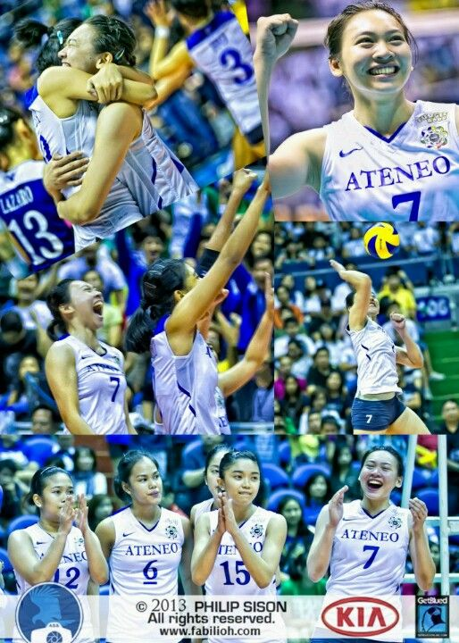 Ateneo Lady Eagles Alyssa Valdez Volleyball Players Filipino Girl