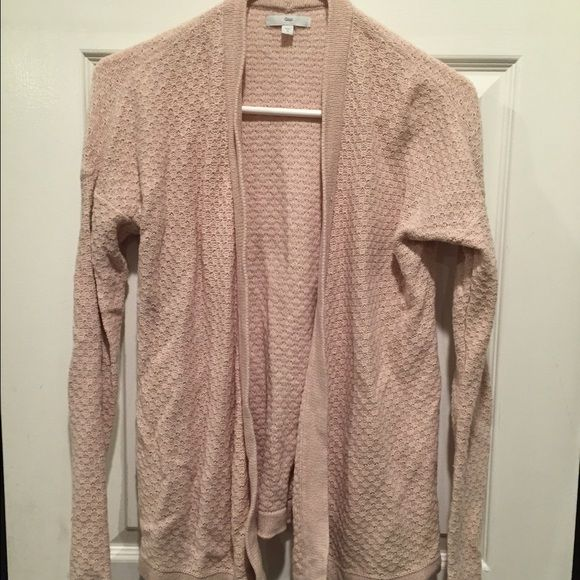Light Pink Gap Sweater Knit cardigan. Pretty light pink color. GAP Sweaters Cardigans