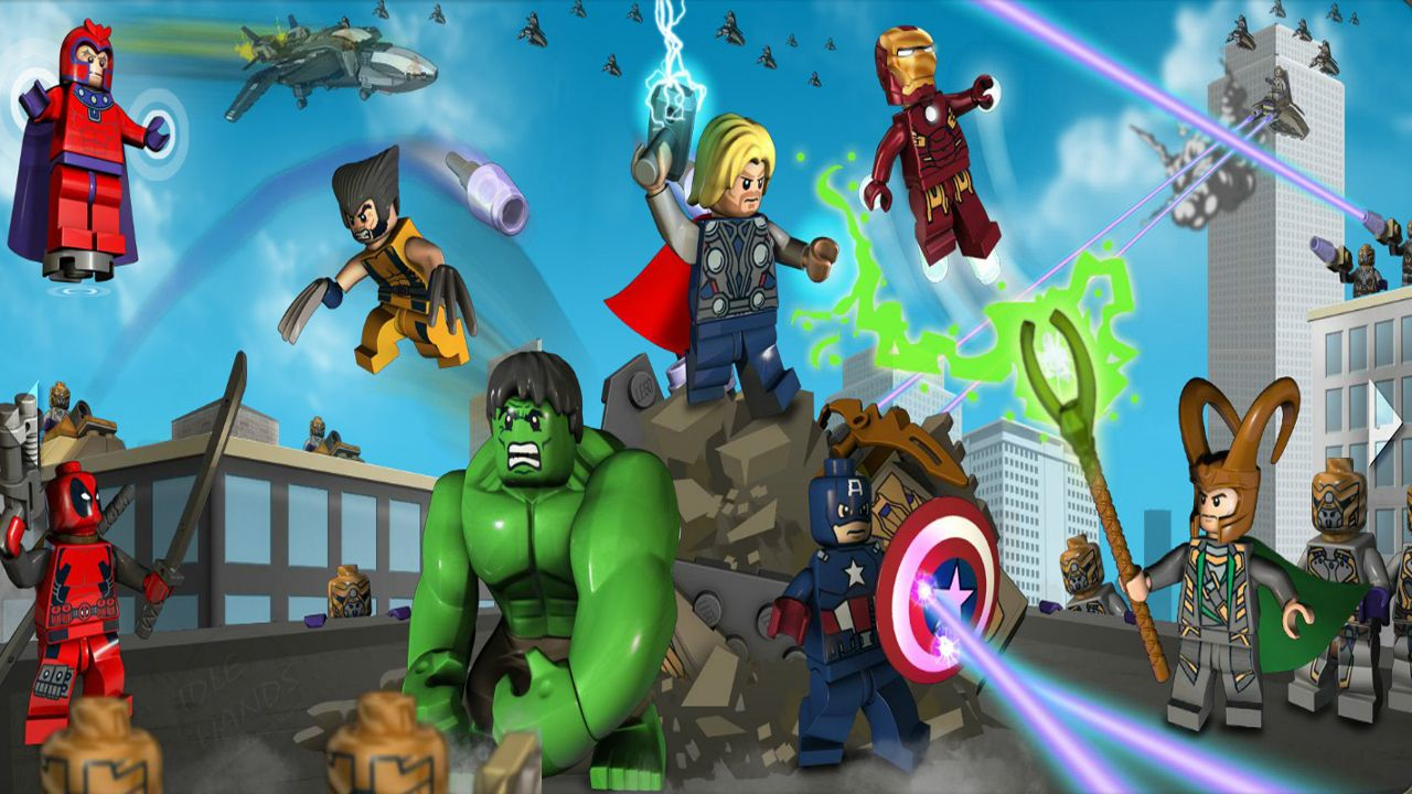 Lego marvel super heroes video game lego i pinterest hero the lego super heroes website for the upcoming marvel sets is now open see all your favorite marvel characters in lego form voltagebd Gallery