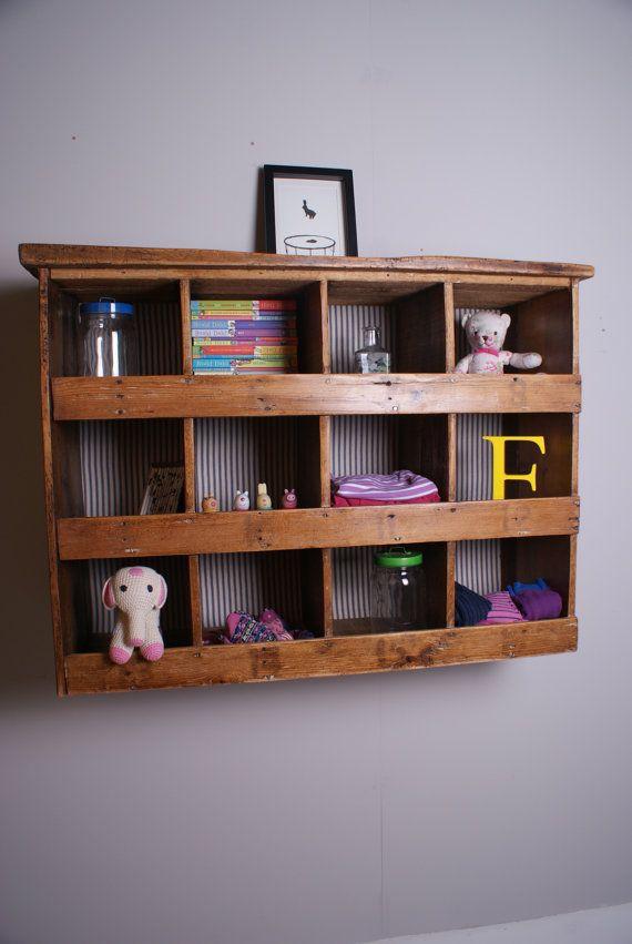 Childrenu0027s Wooden Pigeon Hole Storage Unit by bluetickingspaces £85.00 & Childrenu0027s Wooden Pigeon Hole Storage Unit - Childrenu0027s Furniture ...