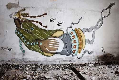 MikolajReys - Lublin, Poland. street art
