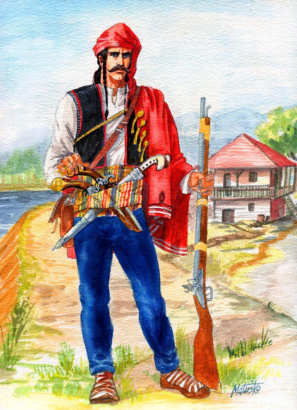 Slavonian frontier militia
