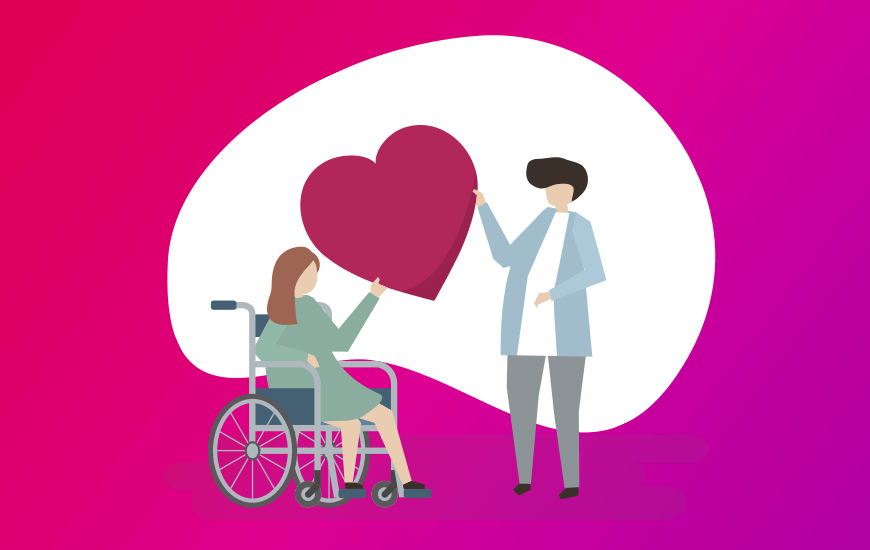 Dating app for people with disabilities