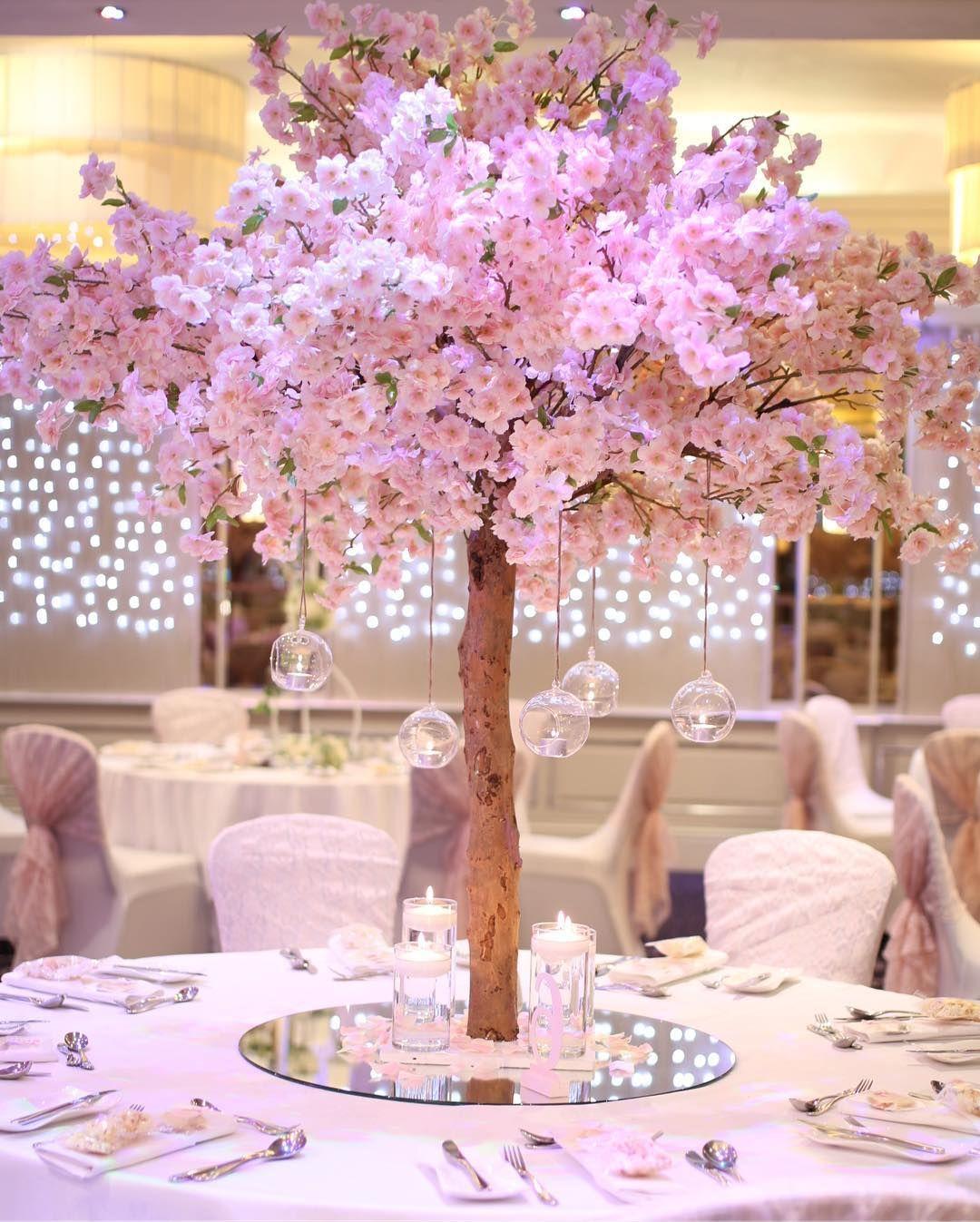No Filter Need For These Beauties Grosvenorpulfordhotel Weddinginspo Blossomtr Cherry Blossom Wedding Theme Tree Centrepiece Wedding Blossom Tree Wedding