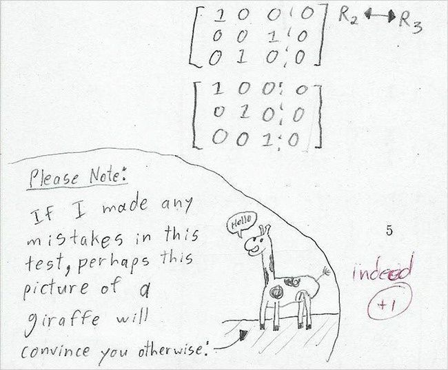 20 Hilarious Test Answers From Kids That Are So Wrong They