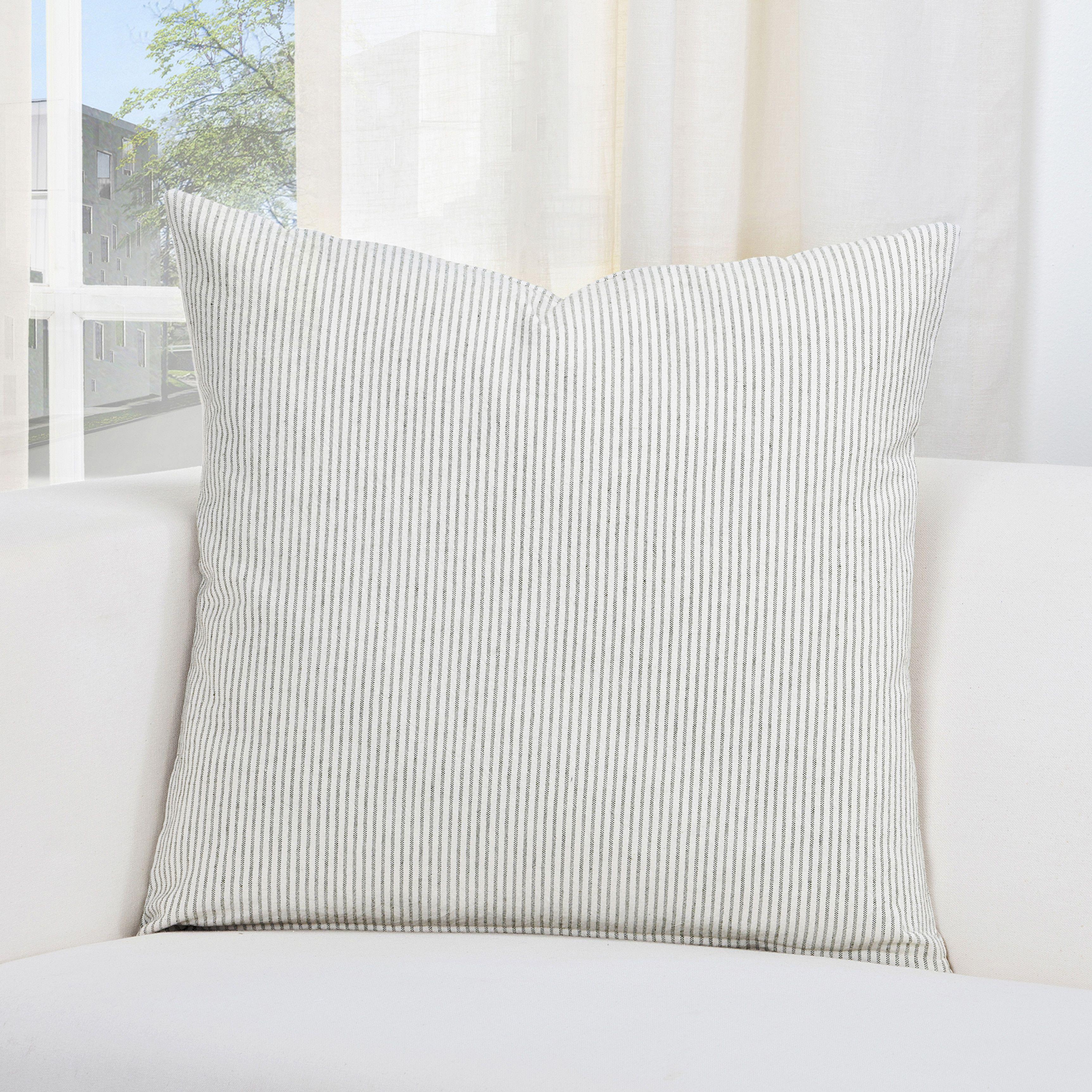 Pillow Shams 20 x 26 Ticking Stripe