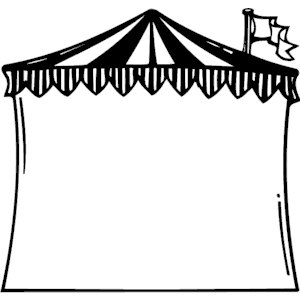 Circus Tent Frame Clipart Cliparts Of Circus Tent Frame Free Download Wmf Eps Emf Svg Png Gif Formats Clip Art Free Clip Art Circus