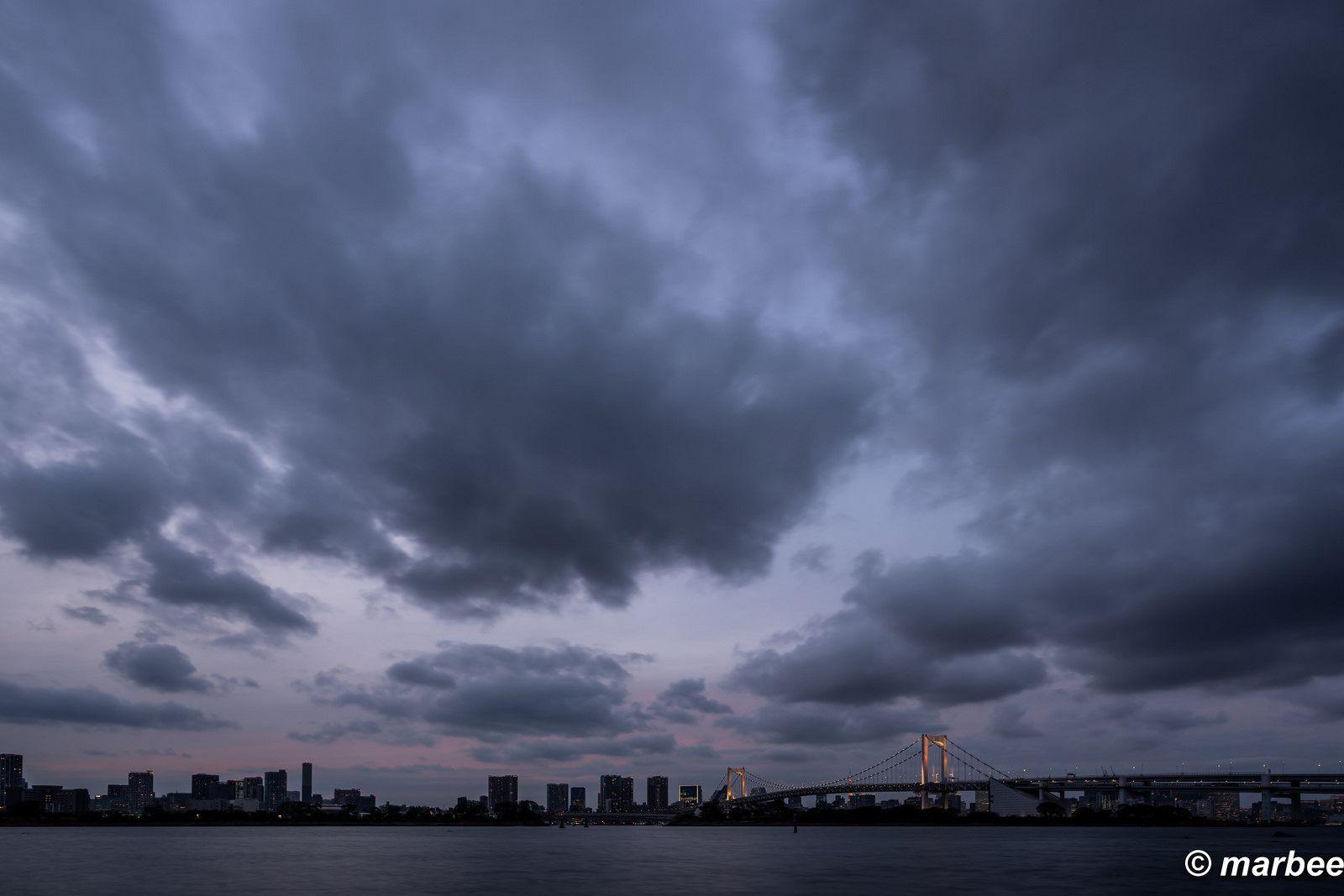 晴れた空も良いけれど、曇りの空には個性がある。 その流れている姿に ...