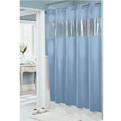 Hookless Clear Top Panel Awesome Idea Hookless Shower Curtain Curtains Shower Curtain