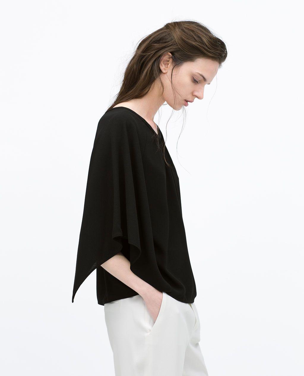 S/S 2015 - KIMONO SLEEVE TOP from Zara