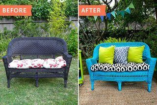Sensational Tips On Painting Wicker Furniture Colors Painting Wicker Beutiful Home Inspiration Aditmahrainfo