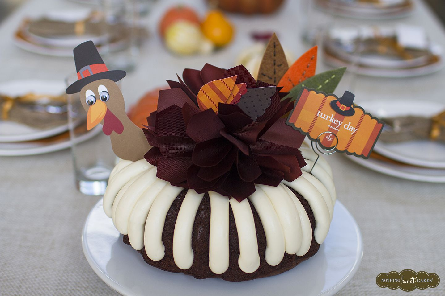 A Turkey Day Bundt Cake From Nothing Bundt Cakes Will Be Gobbled