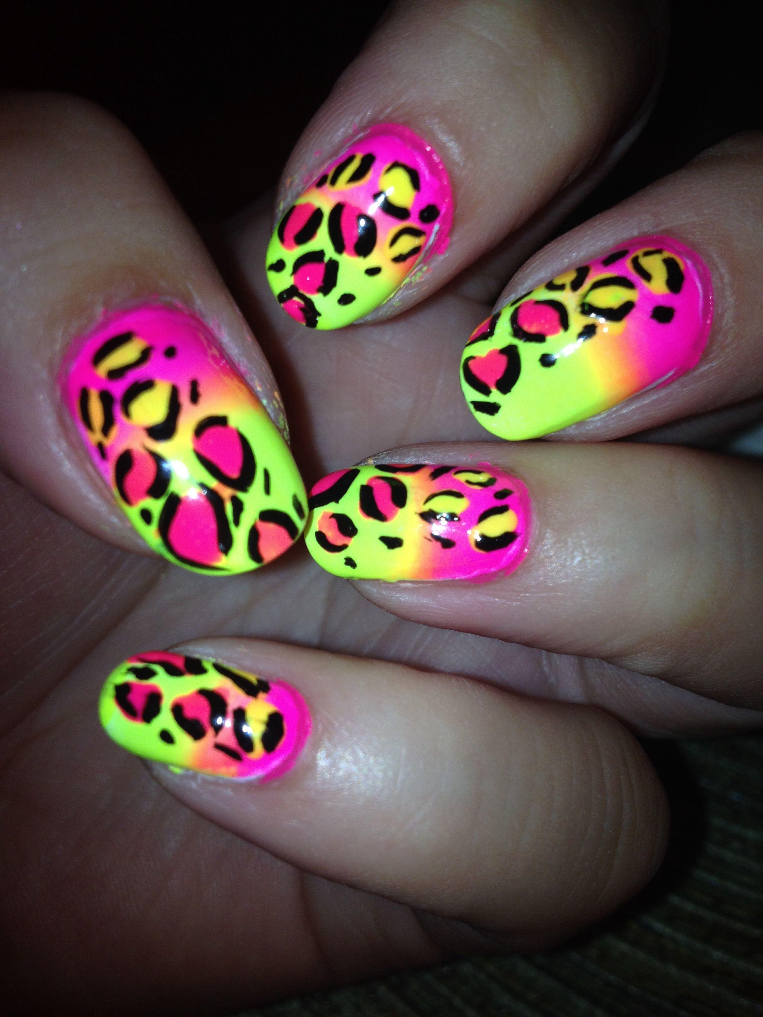 Katy perry nails ;)   My nail art   Pinterest   Katy perry, Neon ...