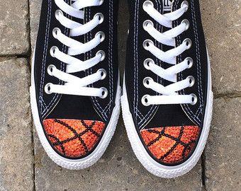 81a319fe82fa Basketball Bling. Low Top Converse. Women Custom Converse Shoes. Basketball  Moms