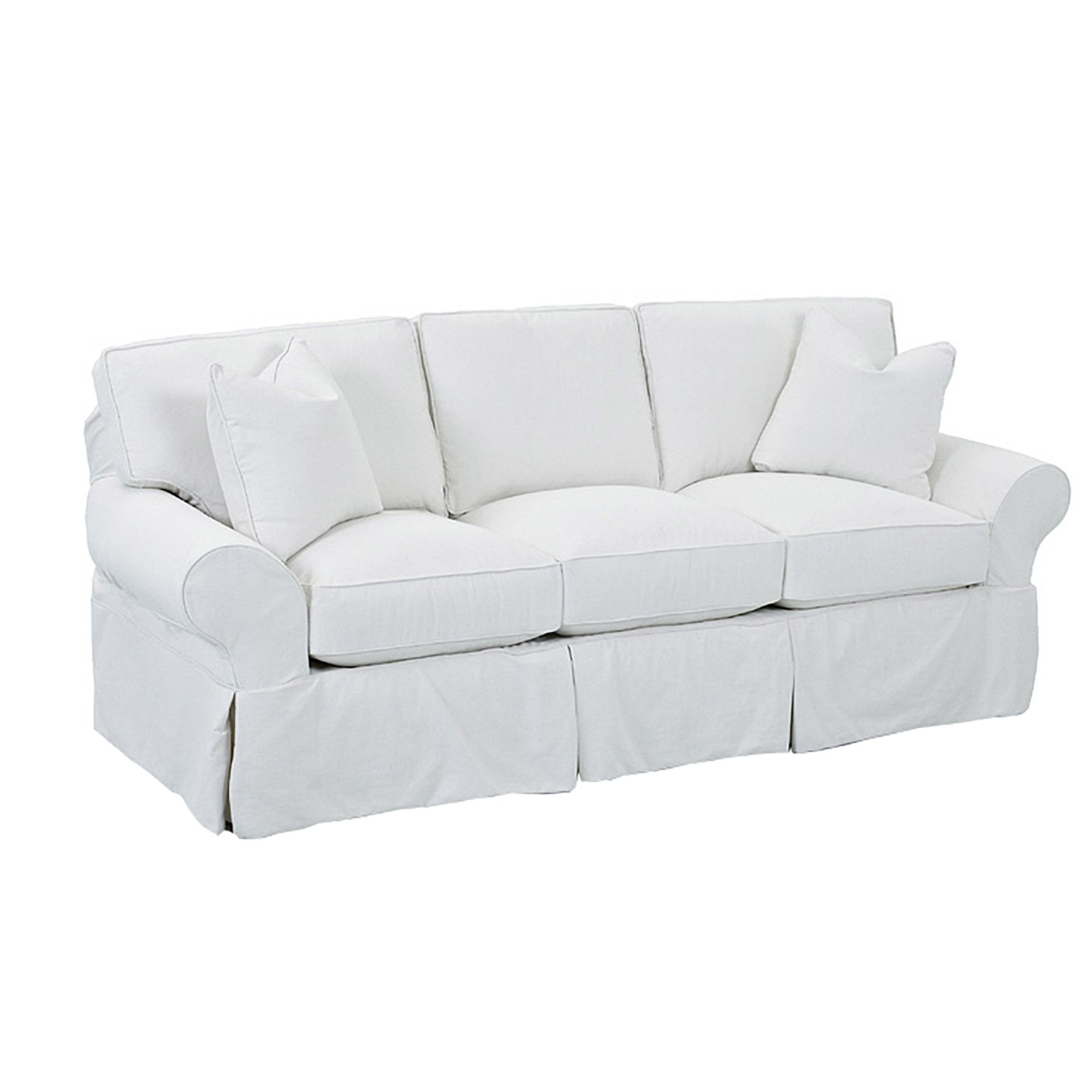 Wayfair Custom Upholstery Casey Sofa Slipcovered Sofa