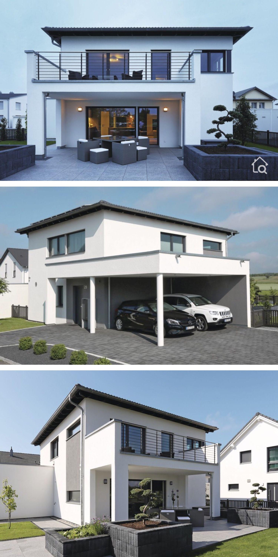 Modernes Haus Design Fertighaus Stadtvilla mit Walmdach