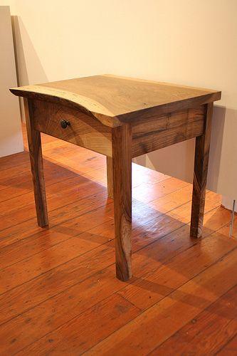 Live Edge Walnut Night Stand Furniture New Furniture Furniture Design
