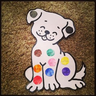 preschool dog activities s colorful day aww a dalmatian with bingo dabbers 237