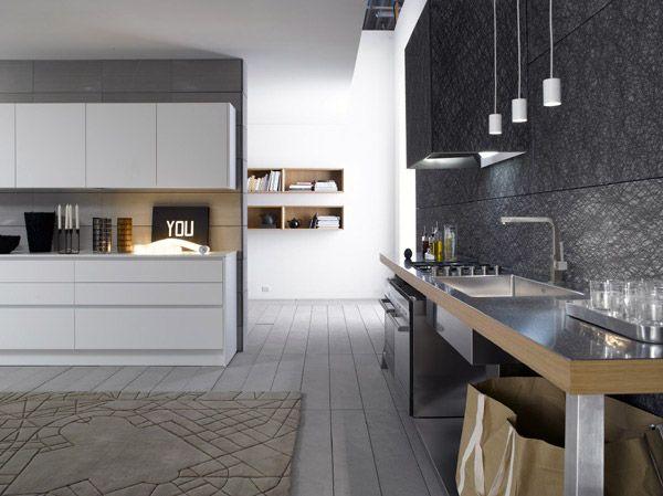 Elements, la linea di cucine moderne realizzata da Bravo | cucine ...