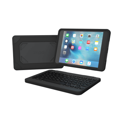 Rugged Book Case With Keyboard For The Apple Ipad Mini 4 English Us Zagg Ipad Mini Keyboards Tablet Keyboard