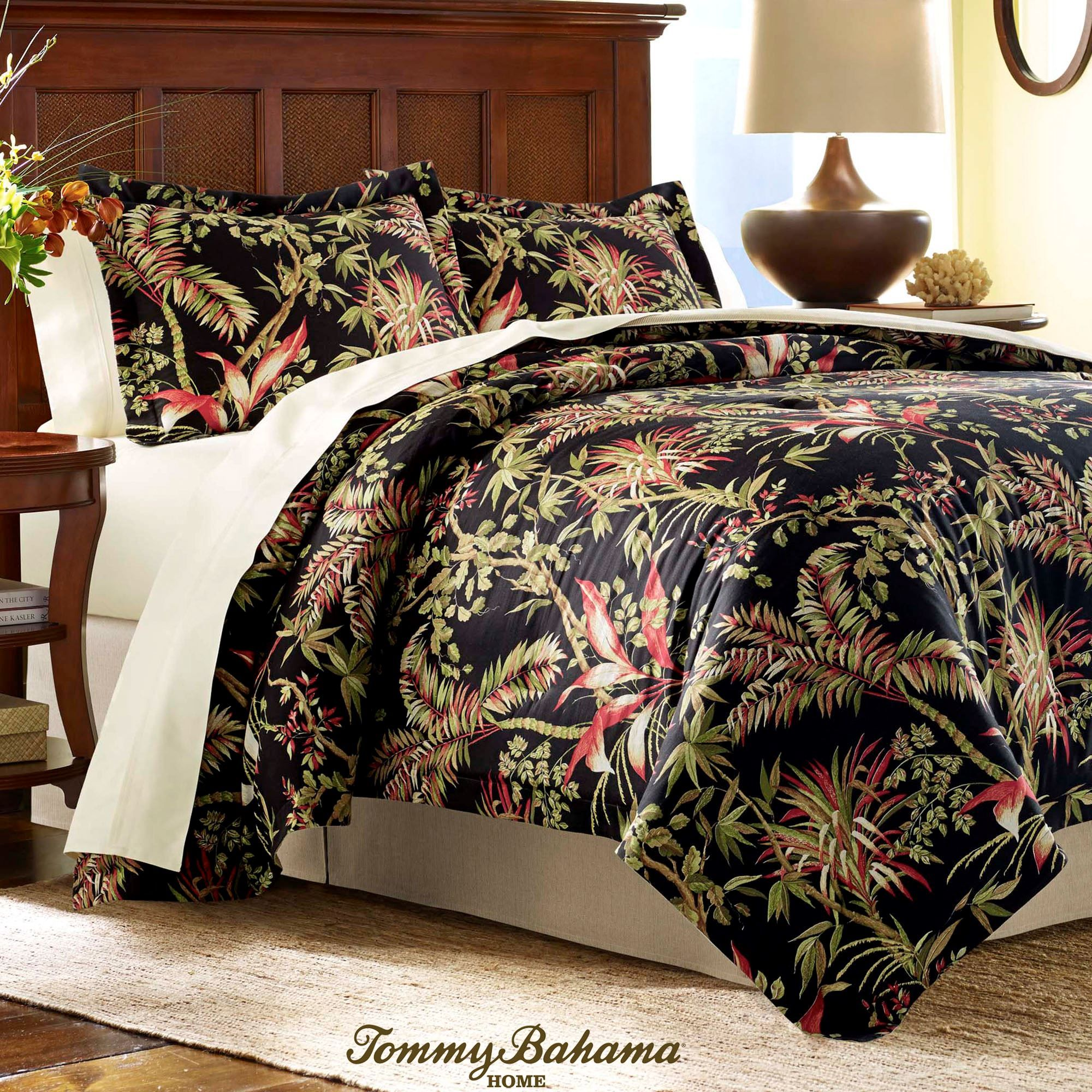 today product bahama overstock piece bath king palmiers free shipping comforter set bedding tommy