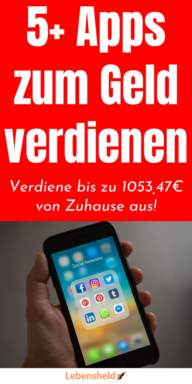 5 Apps zum Geld verdienen - Moneten Wissen in 2020 | Geld ...