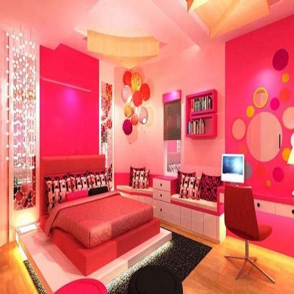 The Beautiful Girls Bedroom design Ideas displayed a few months ago
