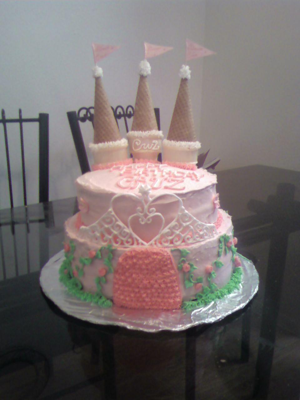 Girl Castle Cake Cakes In 2018 Pinterest Cake Birthday Cake