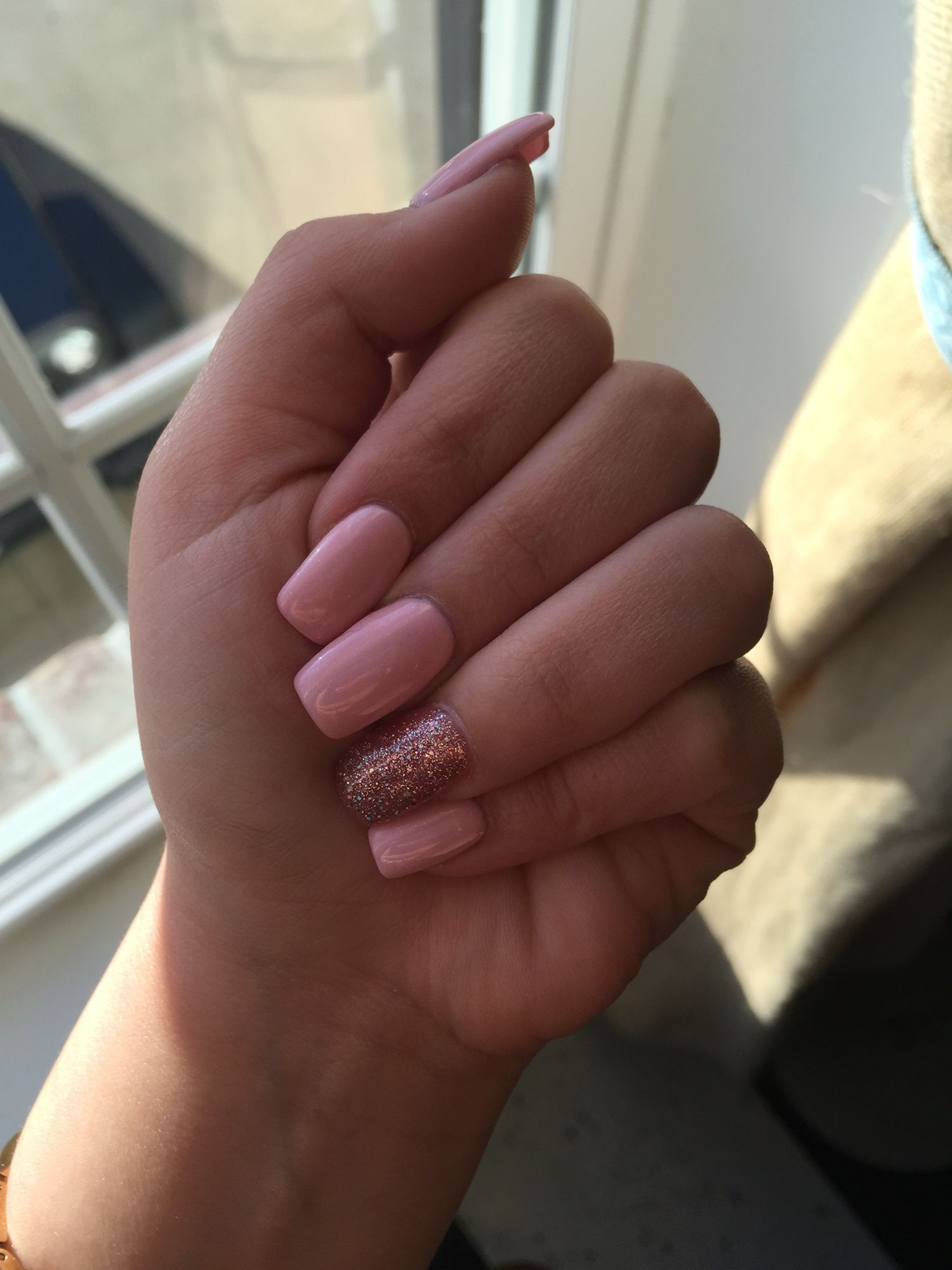 Natural Nail With Gel Polish - Creative Touch