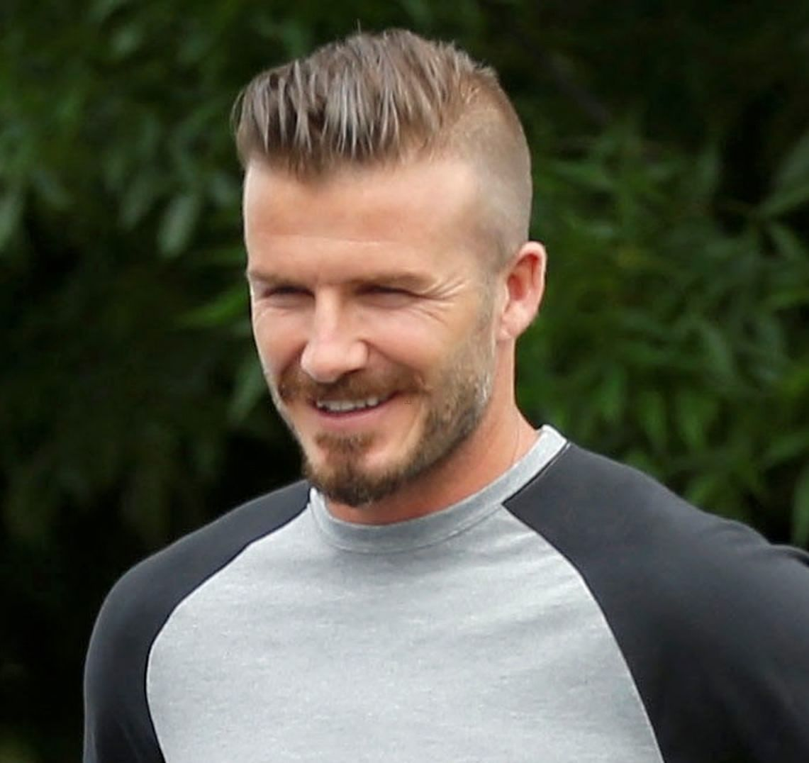 David Beckham Hairstyle Picture Gallery Mens Haircuts Short