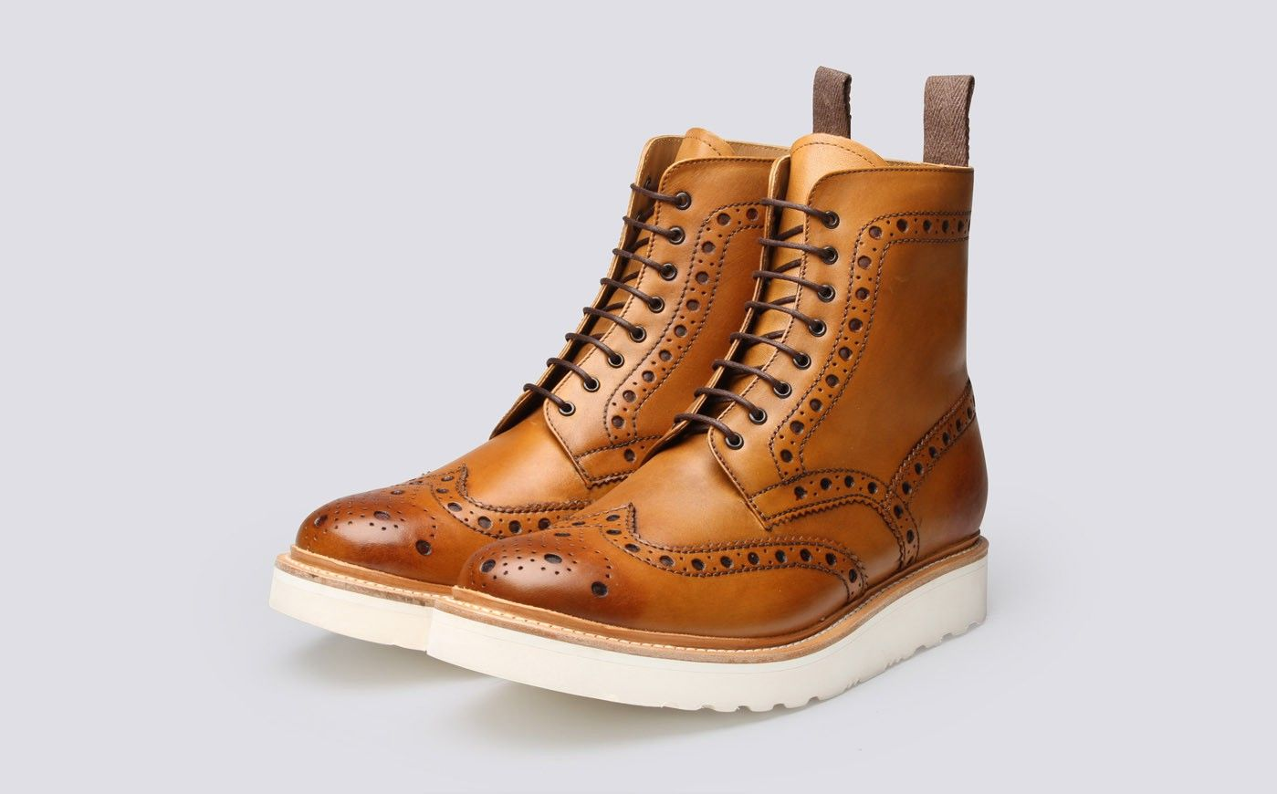 273af3c7ecc Fred in 2019 | Pintaro | Mens brogue boots, Grenson shoes, Leather boots
