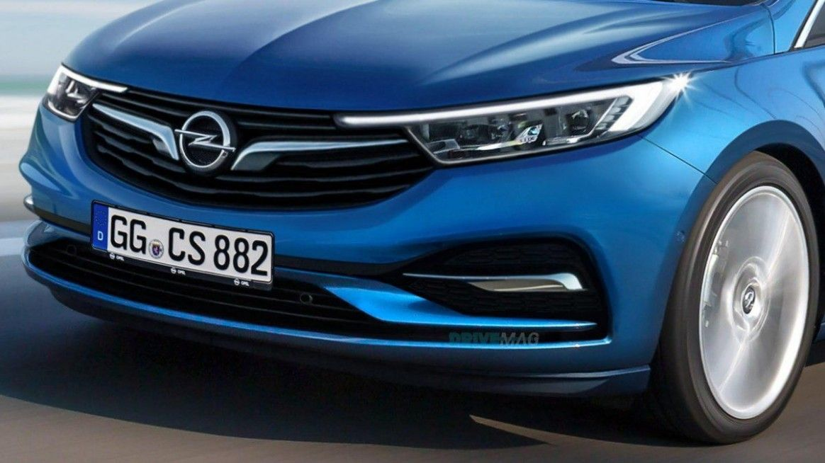 2021 New Opel Astra in 2020 | Opel, Car, Facelift