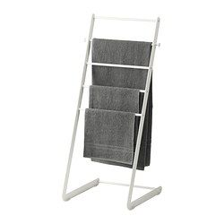 Enudden Towel Stand Ikea Great For Towels If You Have Extra Floor E In Your Bathroom Also Wonderful As A Blanket Ladder Storing Textural Linens